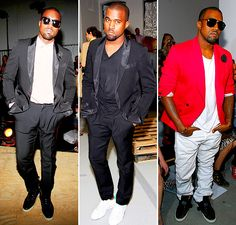 Many styles of Mr. West