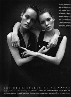 Kate & Amber  (via Frederic Lucano)