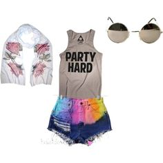 Jac Vanek/Kaleidoscope Vintage summer outfit, created by misslauernashley on Polyvore