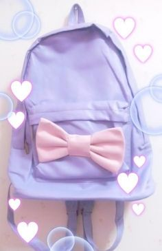 Kawaii Pastel Backpack | Cute Japanese Stuff | Pinterest
