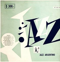 Jazz in varous countries - rare record album covers