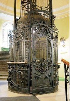 Старинные лифты Петербурга, Лифт в Мало-Михайловском дворце,