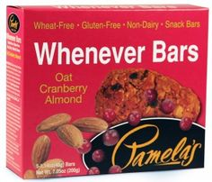 Pamela's Products- Whenever Bars