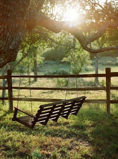 Let's Sit a Spell and Enjoy the Scenery...