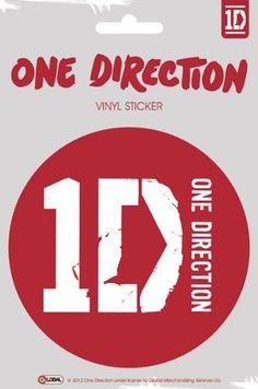 One Direction / - Vinyl Sticker Logo) (Size: in diamater) Best Song Ever, Best Songs, One Direction Accessories, One Direction Store, Midnight Memories, Irish Boys, Simon Cowell, Columbia Records