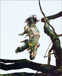 Tarzan Covers by Neal Adams and Boris Vallejo – Catspaw Dynamics J Scott Campbell, John Tenniel, Lucky Luke, Lewis Carroll, Comic Book Artists, Comic Artist, Cthulhu, Tarzan Book, Tarzan Of The Apes