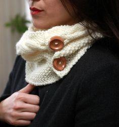 Knitting Wool Collar