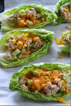 Low Carb Tuna Melt Boats Shared on https://www.facebook.com/LowCarbZen