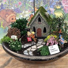 Happy Garden: #fairygarden #fairyhouses #miniaturefairygardens