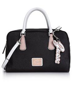 GUESS Handbag, Leandra Box Satchel