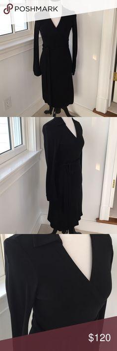 Great little black dress Great black wrap dress from DVF Diane von Furstenberg Dresses