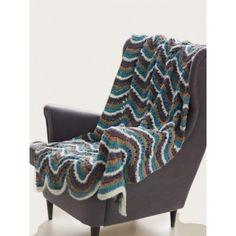 Ripple Blanket-free pattern