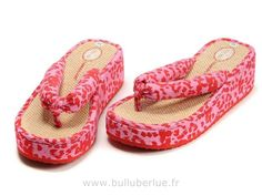 Chaussure Timberland femme Slipper Rose Rouge
