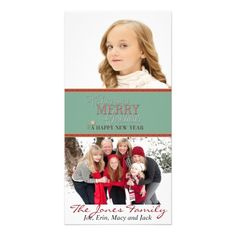 Wishing you a Merry Christmas and Happy New Year Photo Card