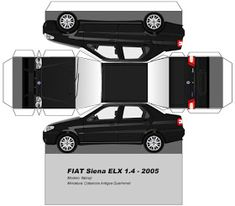 Fiat Siena, Paper Car, Diy Paper, Paper Crafts, Cardboard Toys, Paper Toys, Papercraft Anime, Bugatti, Cadillac