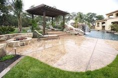 Want to build a swimming pool? How much does a swimming pool cost? This guide will teach you the basics and help you figure out how much pool you can afford. Luxury Swimming Pools, Swimming Pools Backyard, Swimming Pool Designs, Backyard Landscaping, Landscaping Ideas, Backyard Ideas, Patio Ideas, Indoor Swimming, Patio Grande