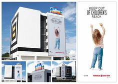 Outdoor ad: Pharmacy Santana: KEEP OUT OF CHILDREN'S REACH