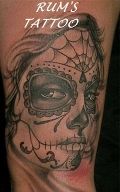 dia de los muertos – Tattoo Picture at CheckoutMyInk.com
