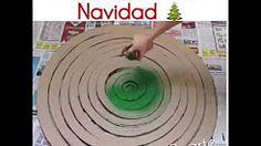 armar un arbol de navidad con cartilina o carton - YouTube