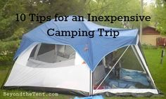 10 Cheap Camping Ideas - Tips for an Inexpensive Camping Trip ...
