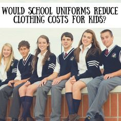 Readers are probably interested in how they can save money on school uniforms. But did you ever stop to think about school uniforms can save you money? #SuburbanFinance#schoolUniform