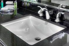 Our sinks don't splash!