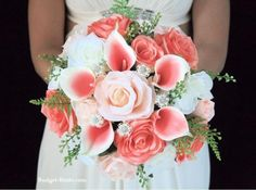 Weddbook is a content discovery engine mostly specialized on wedding concept. You can collect images, videos or articles you discovered organize them, add your own ideas to your collections and share with other people | Coral Wedding Flowers #coral