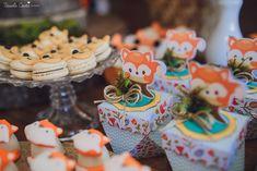 Recepções - CHÁ DE BEBÊ DO RAFAEL - LARANJEIRAS, SERRA - ES Mesas Para Baby Shower, Woodland Party, Woodland Forest, Diy, Desserts, Packaging Ideas, Baby Boy Shower, Fox Party, Orange Trees