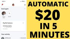 Automatic $20 In 5 Minutes Of Work! (FREE) Make Money Online Make Money Blogging, Make Money From Home, Way To Make Money, Make Money Online, How To Make, Money Hacks, Money Tips, Internet Marketing, Social Media Marketing