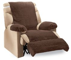 Recliner Fleece Furniture Covers  Pc By Collections Etc Collectionsetc Casual Alloccasion