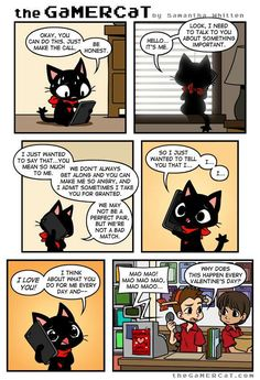 the GaMERCaT :: Confession | Tapastic - image 1