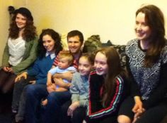 Greg and Theo with their cousins - 04.05.2014 - Mullingar
