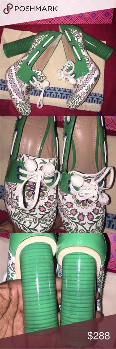0bc6a1245550a7 🤫NEW TORY BURCH GARDEN PARTY PUMP SHOES 🔱NOOO TRADES🔱 Authentic and  beautiful than ever these garden party women s fisher pump size 6 shoes are  stunning.