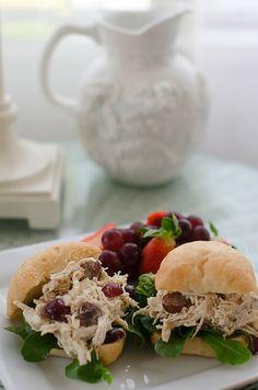 Easy Chicken Salad Recipe.