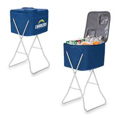 Perfect for the San Diego Chargers games. A Navy Tailgate Party Cube!