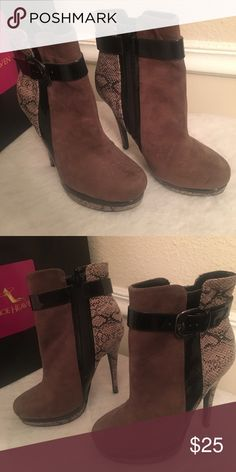 Booties Cute booties never worn Call It Spring Shoes Ankle Boots & Booties