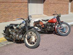 vintage/rat bikes - photo taken in Mitchell, SD 2011