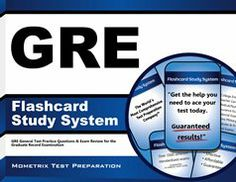 Our GRE Flashcard Study System helps test takers prepare for the Graduate Record Examination (GRE), which is offered by the Educational Testing Service (ETS). #GRE