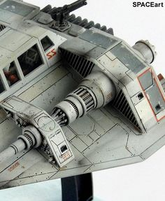 Star Wars: Luke Skywalkers T-47 Snowspeeder, Fertig-Modell ... https://spaceart.de/produkte/sw083.php