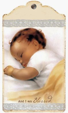 Nothing sweeter or more precious than a baby sleeping.