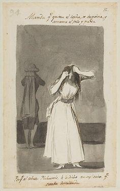 *The Tantrum* Goya (Francisco de Goya y Lucientes) (Spanish, Fuendetodos 1746–1828 Bordeaux)