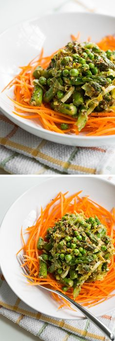 "Glowing Green ""Pasta"" Primavera 