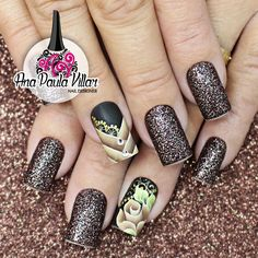 Perfumery and Cosmetics Matte Nails, My Nails, Acrylic Nails, Beauty Nails, Hair Beauty, Fabulous Nails, Nail Tutorials, Manicure And Pedicure, All The Colors