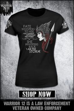 """Fate whispers to her, """"You cannot withstand the storm."""" She whispers back, """"I am the storm."""" Choose your fate."""