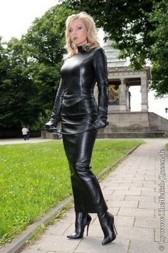 Leather Mini Dress, Leather Dresses, Celebrity Boots, Leder Outfits, Lingerie For Sale, Crazy Outfits, Fetish Fashion, Leather Gloves, Leather Tops