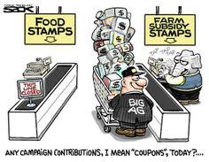 Sack cartoon: Ringing up farm subsidies | StarTribune.com