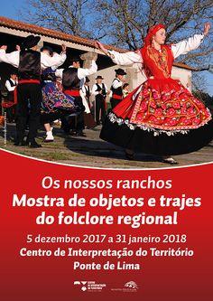 Os Nossos Ranchos: Mostra de Objectos e Trajes do Folclore Regional | Exposição | Centro de Interpretação do Território | Arcozelo