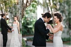 Special First Look moment by Sargeant Photography