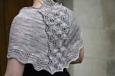 White Swan Shawl
