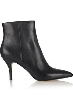 5e4f17cc632c MICHAEL Michael Kors Harrison leather ankle boots